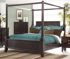 Martini Suite 4pc Canopy Bed Set by Ashley | LA Furniture Center