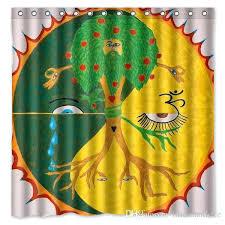 waterpro s bathrooms dotz tree of life shower curtain