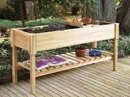 build elevated garden bed. Beautiful Garden Building An Elevated Garden Bed Diy Planter Box Cedar  Beds On Legs  And Build Elevated Garden Bed