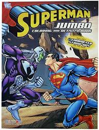 The superman games aren't just about action, bloody fighting and rescuing people all the time, there's also space for imagination. Amazon Com Superman Coloring Book Superman Jumbo Coloring And Activity Book 1 Book Toys Games