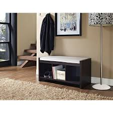 Avenue Greene Birchmont Entryway Storage Bench with Cushion - Free Shipping  Today - Overstock.com - 15416294