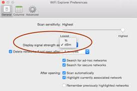 Wifi Attenuation Chart Conversion Of Signal Strength In Dbm To Percentage In Wifi