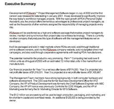 Format For An Executive Summary Report Format Executive Summary Magdalene Project Org
