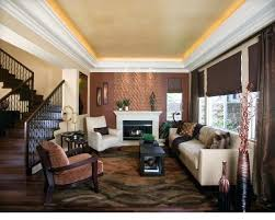 interior design living room contemporary. Brown Walls Living Room Ideas Contemporary Idea In Orange County With Interior Design