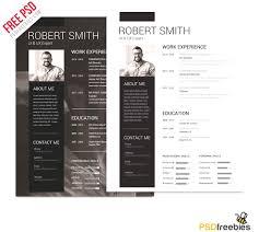 Photoshop Resume Template Resume
