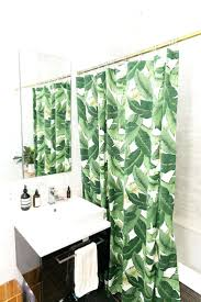 smlf tropical shower curtain