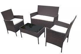 4 seater rattan garden furniture deal