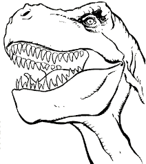 T Rex Coloring Pages - GetColoringPages.com