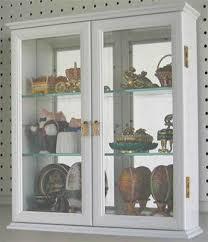 wall display case wall curio cabinet