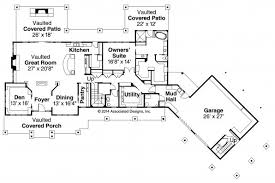 lodge style house plans barnhart 30 946 associated designs Open Great Room House Plans lodge style house plan barnhart 30 946 first floor plan open kitchen great room house plans