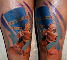 Nefertiti And Pyramid Done By Markotattoo At Belgrade Tattoos