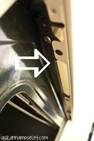 clean between glass on oven door how to clean between oven glass remove the drawer from clean between glass on oven door