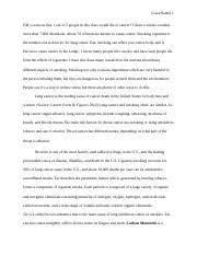 smoking speech outline nicole pettit zach fort com topic  4 pages speech anti smoking 2