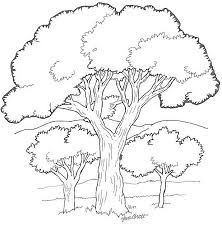 Trees To Download Trees Kids Coloring Pages