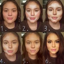 3 full face make up for