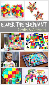 15 elmer the elephant activities for kids art sensory play and more