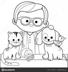 Kleurplaat Van Huisdieren