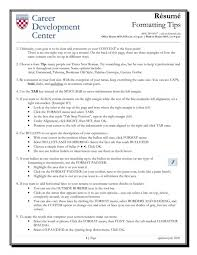 Resume Formatting Tips Custom Resume Formatting Tips Resume Templates Design Cover Letter