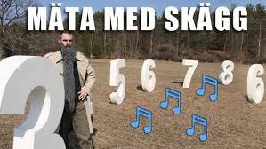 Mäta med skägg-musikvideos | Barnkanalen