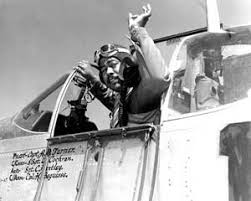 tuskegee airmen fighting on two fronts philly tuskegee airman captain andrew d turner co of 322nd 1944 photo