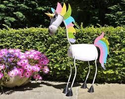 amazing unicorn garden ornament