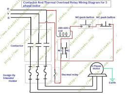square d lighting contactor wiring diagram Wiring Motor Overloads wiring contactors diagram Electrical Overload