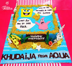 Spongebob Birthday Cake Customized Cakes In Lahore