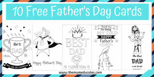 15 diy father's day cards that dad (or grandpa) will cherish forever. 10 Free Father S Day Cards Fun Colouring Cards The Mum Educates