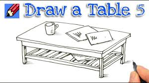 coffee table drawing. Coffee Table Design Drawing E