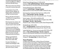 Recruiting Resume Fascinating Sample Recruiting Resume And Resume Service Best Templatewriting A