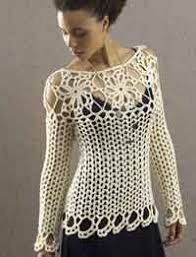 Free Crochet Sweater Patterns Interesting Over 48 Free Plus Size Crocheted Patterns At AllCrafts