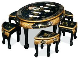 oriental coffee table oriental coffee table with stools antique antique oriental round coffee table