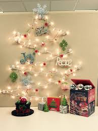 christmas office decoration. Christmas Cubicle Decorating Ideas Office Decoration