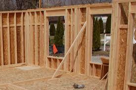 framing an exterior wall corner. Framing Exterior Wall Bracing An Corner A