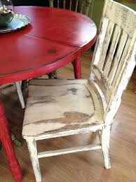painted round kitchen table distressed country the chair is a little too for me but oak