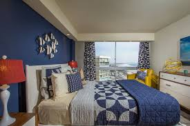 bedroom colors blue and red. blue, red and yellow coastal style. bedroom decorating style colors blue