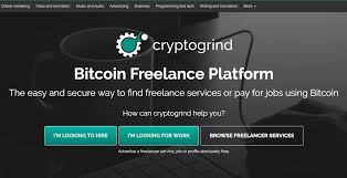 cryptogrind cryptominded twitter · facebook · bitcoin lance platform the easy