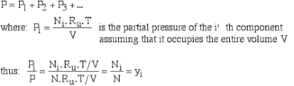 total pressure equation. problem propane (c3h8) is burned with 61% excess air, which enters a combustion chamber at 25°c. assuming complete and total pressure of 1 equation r