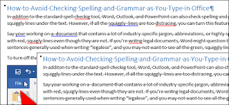 Red Checking How To Turn Off Spell Check As You Type In Microsoft Office