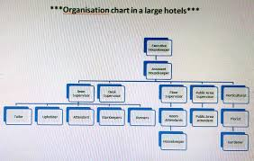 Housekeeping Department Functional Chart Hkfirstsem Organization Chart Of Housekeeping Department