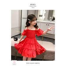 Đầm bé gái 6 tuổi (3 - 12 tuổi) ️ váy đẹp cho bé gái 10 tuổi ️ thời trang  cho bé gái dưới 1 tuổi giá cạnh tranh