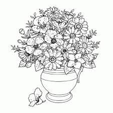 Bloemen Kleurplaten Leuk Voor Kids Kleurplaten Bloemen En Vlinders