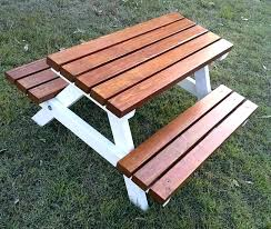 wood picnic table designs wooden picnic table kid picnic table wooden benches with umbrella plans kid