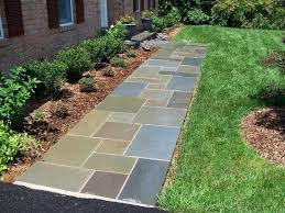 diy flagstone walkway with concrete flagstone walkway laying flagstone patio over concrete diy