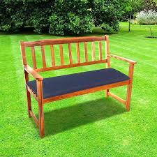garden seat cushions garden bench cushions cc 2 seat garden bench cushion navy blue garden bench
