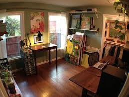 living room home office workspace. I Am Incredibly Impressed By How Functional This Multipurpose Room Is Living Home Office Workspace
