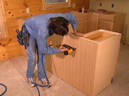 Prefinished Kitchen Cabinets How To Replace Kitchen Cabinets How Tos Diy