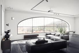 black white living room furniture. Stanislav Kaminskyi Black-living-room-furniture-2-large-shaped-window- Black White Living Room Furniture
