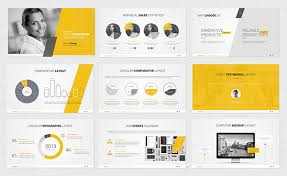 graphic design powerpoint templates powerpoint template on behance