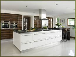 High Gloss White Kitchen Kitchen High Gloss Modern Kitchen With High Cabinet To Ceiling